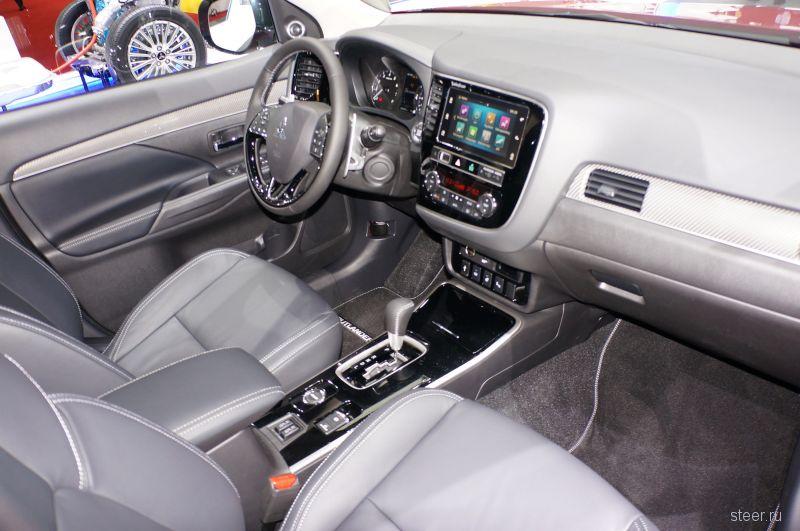 Обновленный Mitsubishi Outlander будет продаваться в России