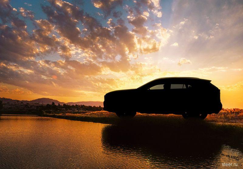 Первое фото новой Toyota RAV4
