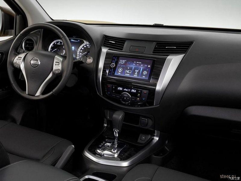 Новые фото рамного внедорожника Nissan Terra