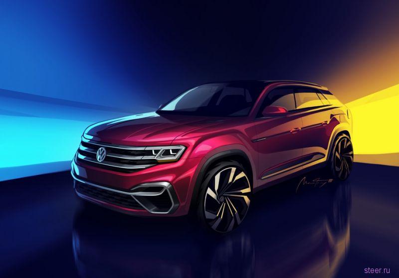 Официально представлен новый пятиместный кроссовер Volkswagen