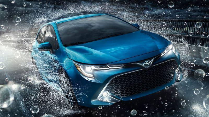 Представлено новое поколение хэтчбека Toyota Corolla