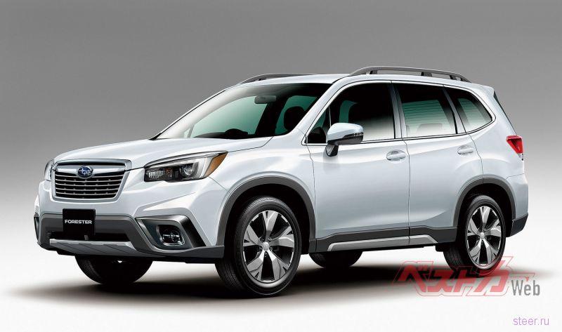 Официальные фото нового Subaru Forester