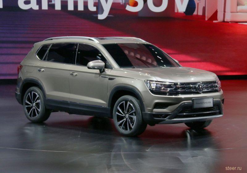 Volkswagen показал новый доступный кроссовер