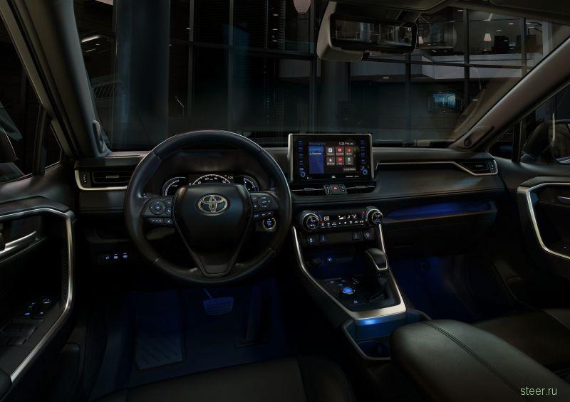 Официально представлен новый Toyota RAV4