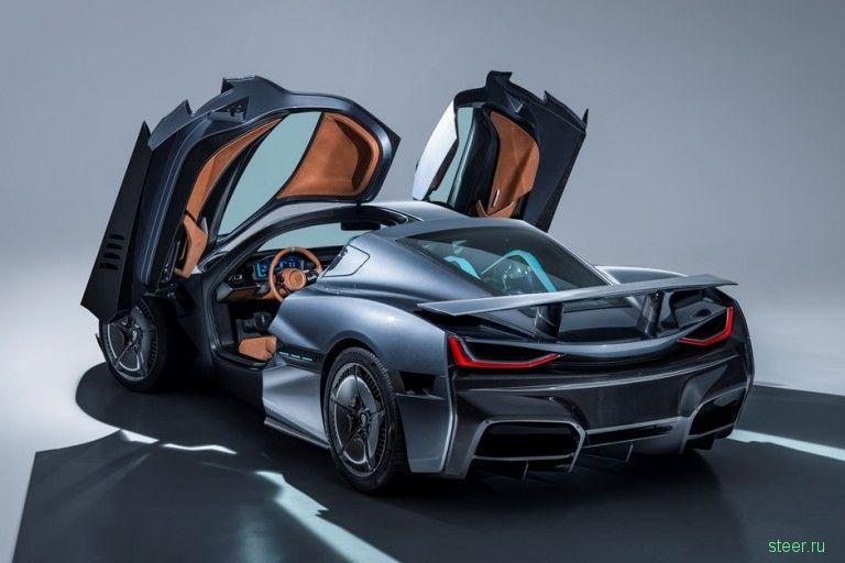 Хорватский Rimac C_Two — самый мощный электромобиль в мире