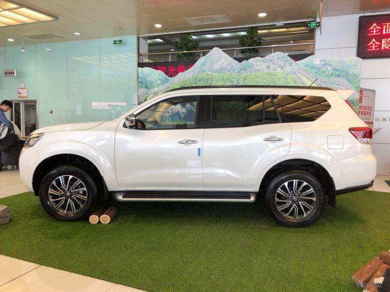 Первые фото нового рамного внедорожника Nissan Terra