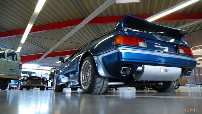 Редчайший BMW M1 выставили на продажу за 930 тысяч долларов