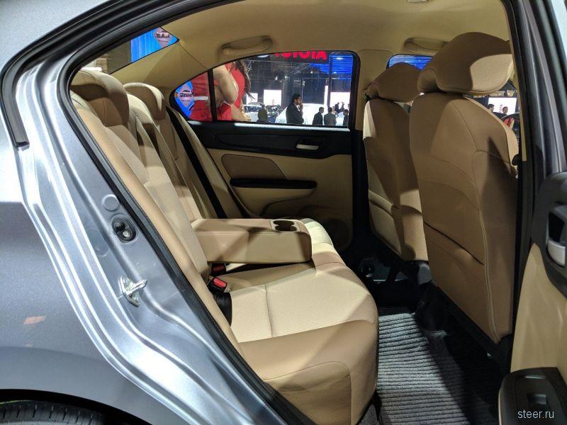 Honda Amaze : компактный седан для развивающихся рынков Азии