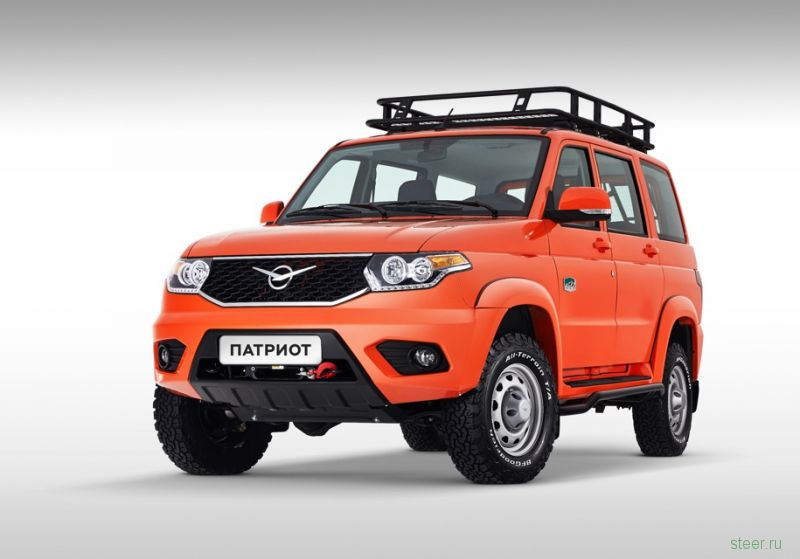 UAZ представил оранжевый Patriot за миллион рублей