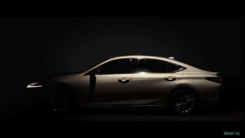 Первые фото нового седана Lexus ES