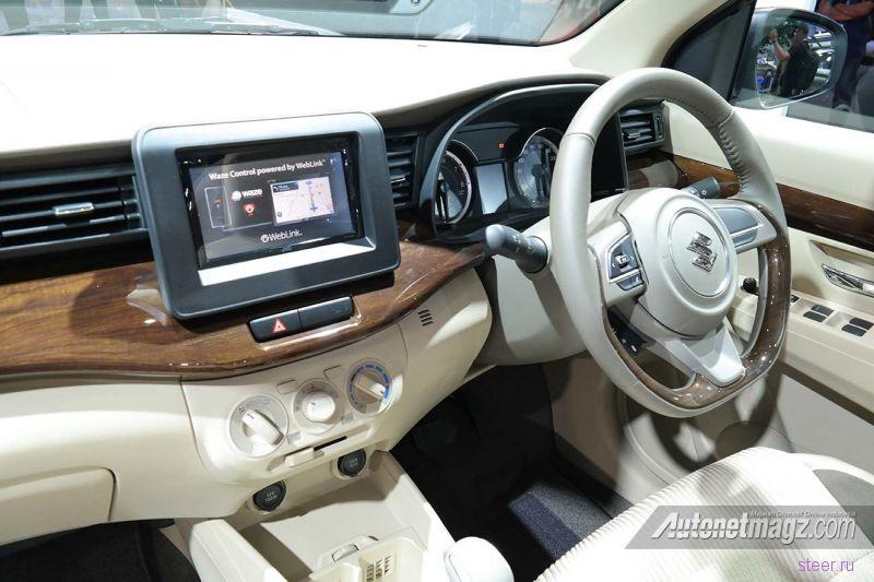 Suzuki Ertiga : новое поколение бюджетного минивэна