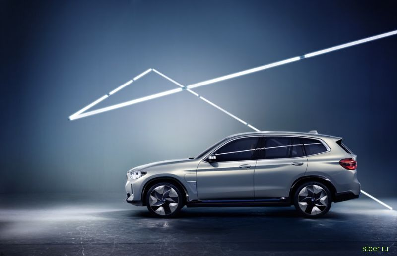 BMW показала первый электрический кроссовер BMW iX3