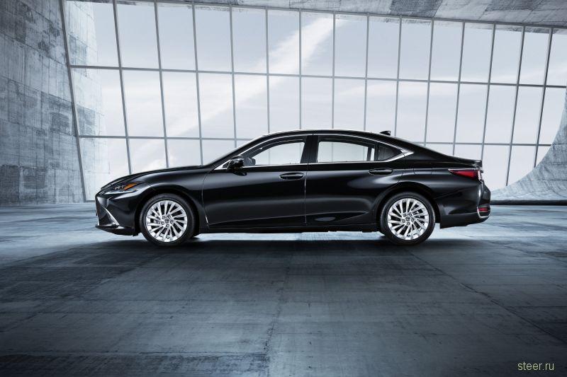 Представлен новый Lexus ES