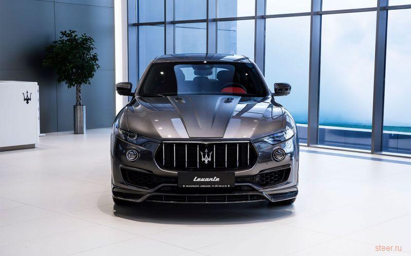 В Москве продали самый дорогой Maserati Levante