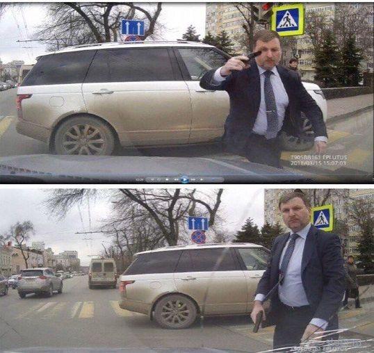 Правоохранительные органы не выявили состава преступления в действиях депутата, напавшего на водителя с пистолетом
