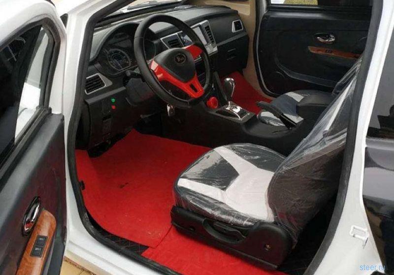 Китайцы сделали копию Bugatti Chiron за 300 тысяч рублей