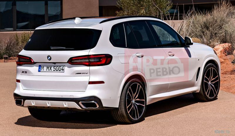 Первые изображения нового BMW X5