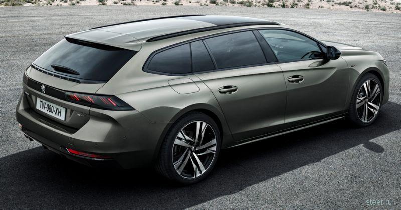 Представлен новый универсал Peugeot 508
