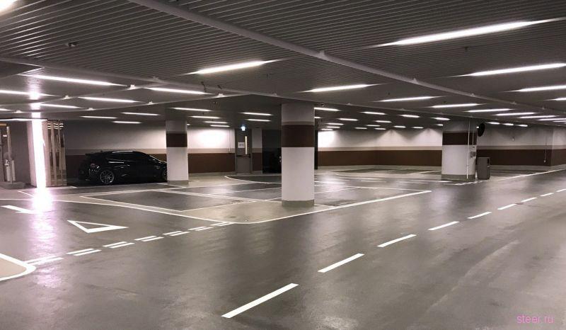 Как выглядит парковочное место за 47 000 000 рублей