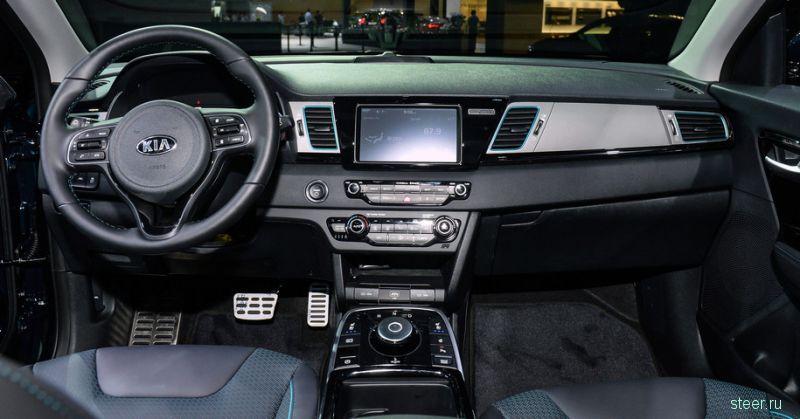Kia представила электромобиль Niro EV