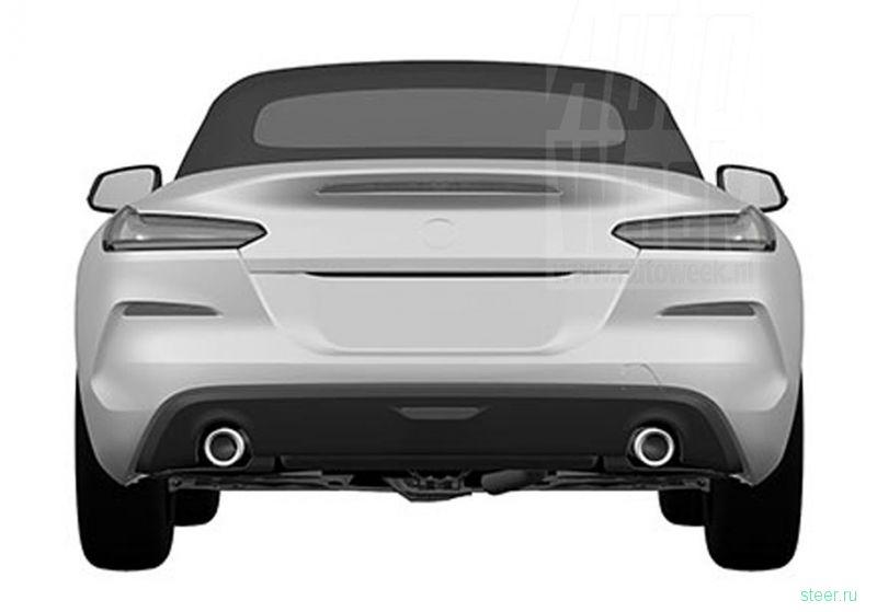 Первые изображения нового BMW Z4