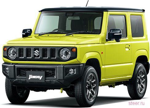 Первые официальные фото нового Suzuki Jimny