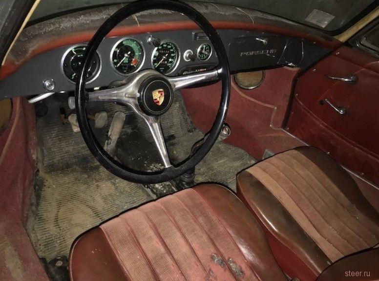 Как выглядит Porsche 1962 года, простоявший в гараже 45 лет