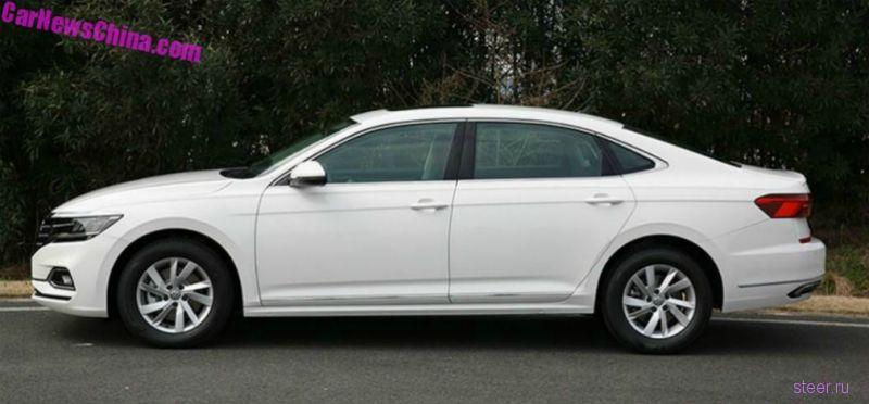 Первые фото нового Volkswagen Passat
