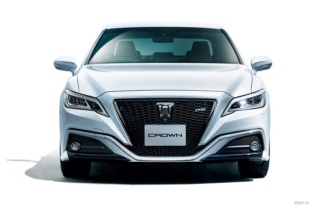 Новая Toyota Crown : старт продаж