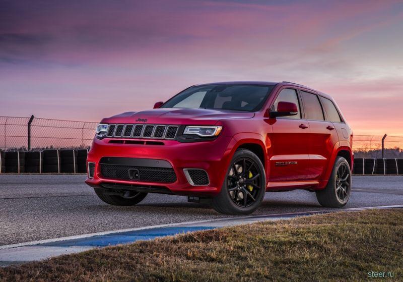 Самый мощный и быстрый Jeep Grand Cherokee : от 8,2 млн рублей