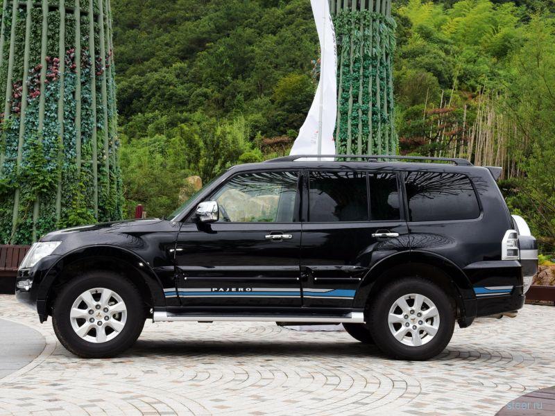 Рестайлинговый Mitsubishi Pajero представлен официально