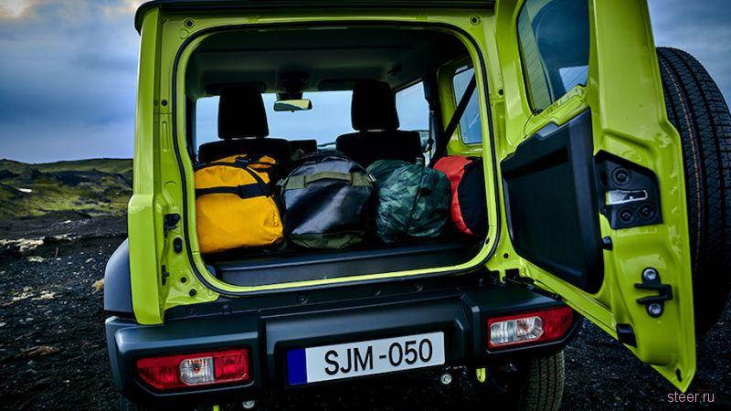 Новый Suzuki Jimny официально представлен