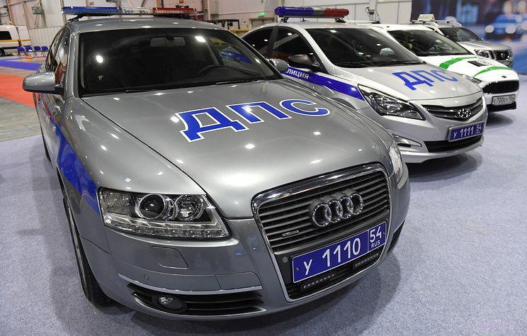 Автомобили полиции получат новую расцветку