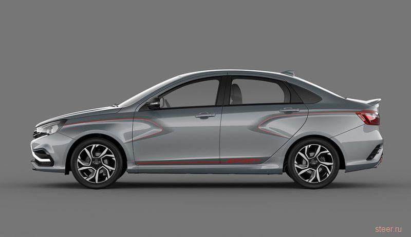 Спортивная Lada Vesta представлена официально