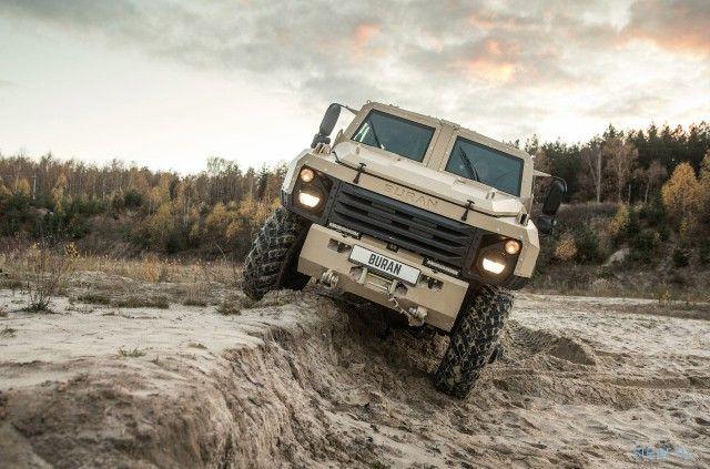 «Буран» – новый российский бронеавтомобиль на базе «газона»