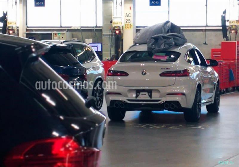 Первое фото BMW X4 M