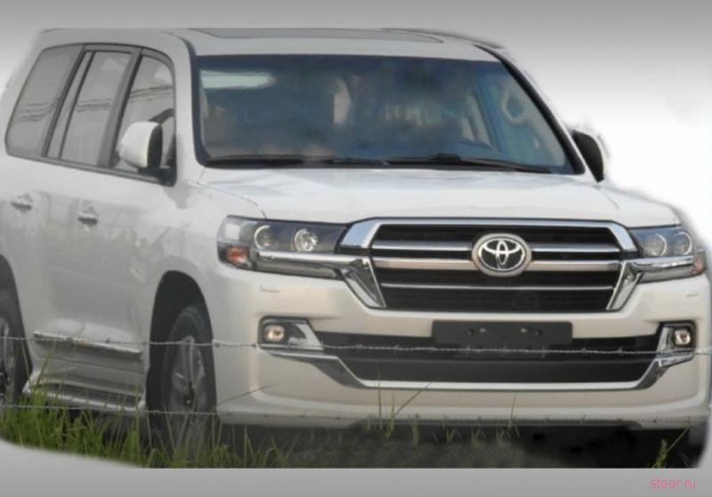 Первые фото обновленного Toyota Land Cruiser 200