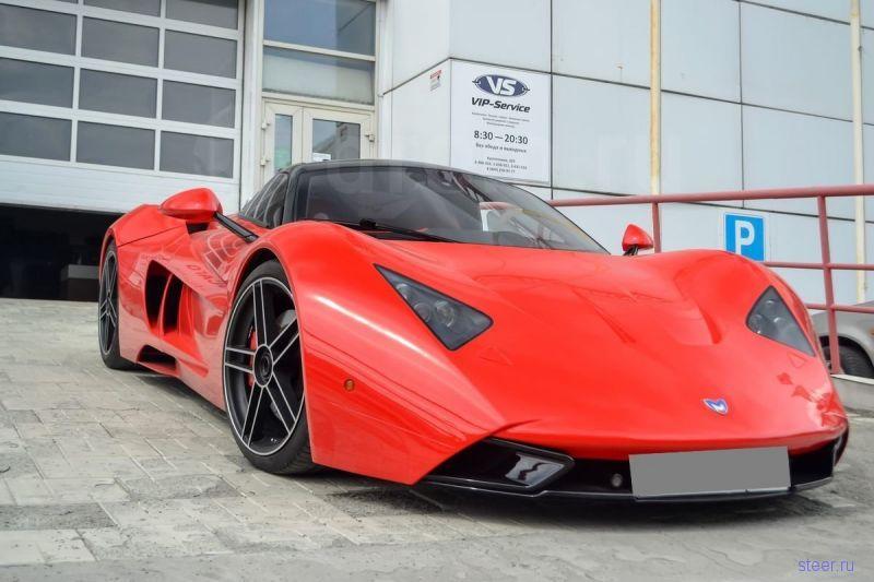В Новосибирске продают восстановленную Marussia B1 за 10 млн рублей