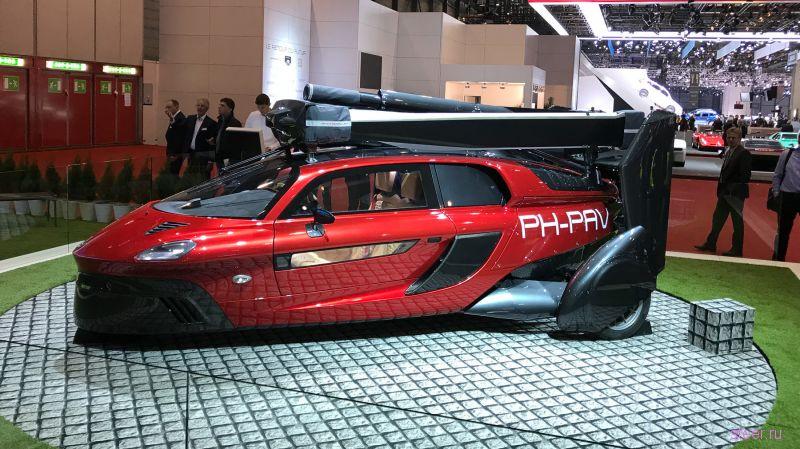 Летающий автомобиль PAL-V Liberty будут продавать за 37 млн рублей
