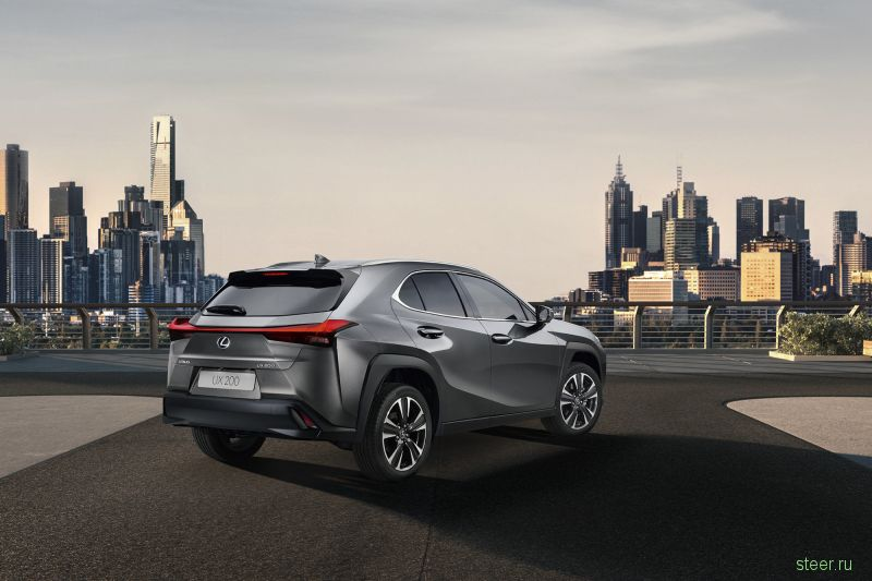 Самый маленький кроссовер Lexus UX появится в России уже осенью
