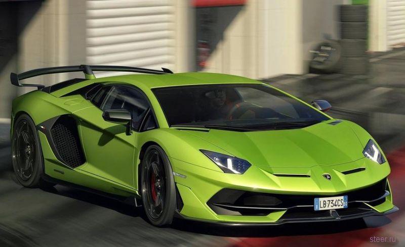 Официально представлен Aventador SVJ – самый мощный и быстрый Lamborghini