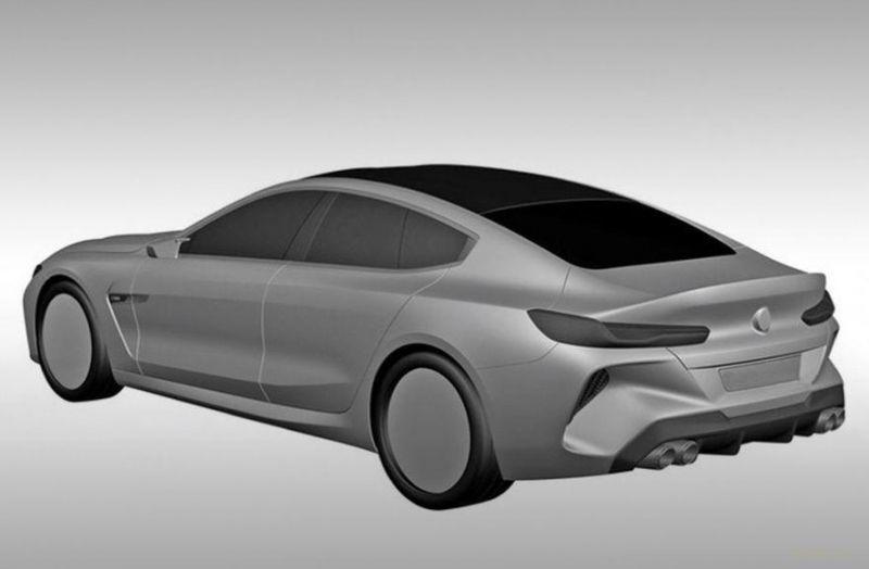 Первые изображения BMW M8 Gran Coupe