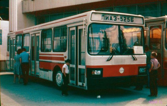 Автобусы СССР: известные и малоизвестные, красивые и не очень