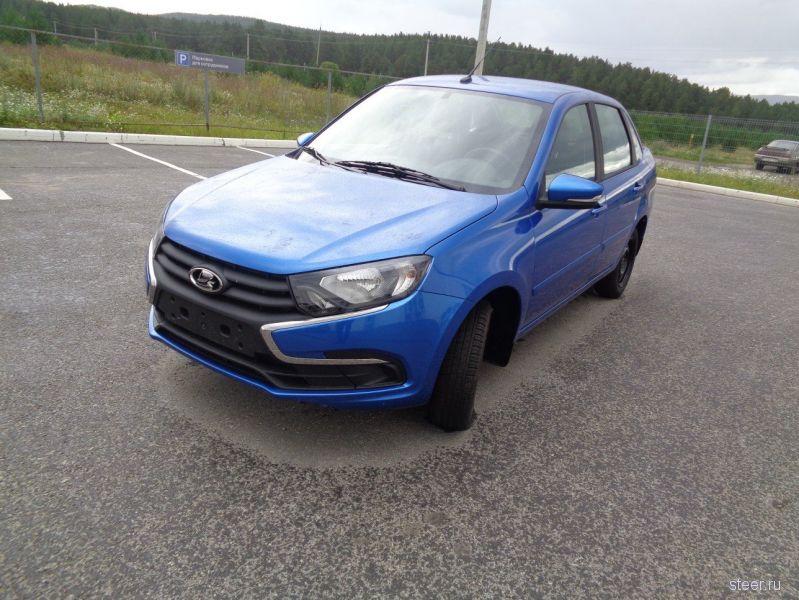 Обновленная Lada Granta: от 419 000 рублей