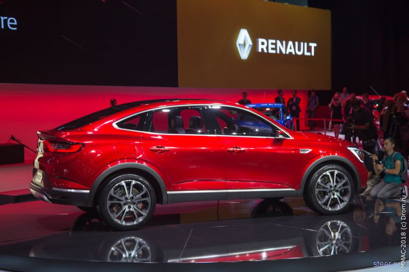 Renault Arkana — бюджетный спорт-кроссовер для России