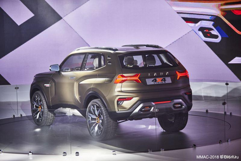 «АвтоВАЗ» представил внедорожник LADA 4х4 нового поколения