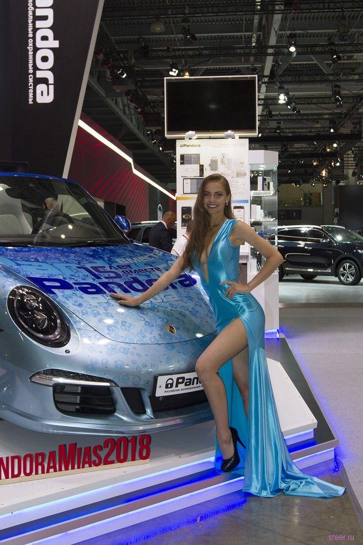 Девушки Московского автосалона