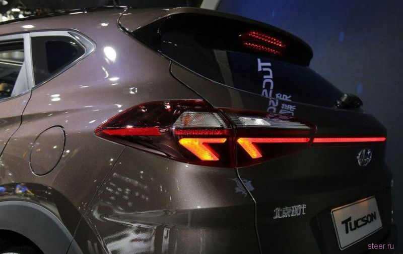 Прендставлен обноденный Hyundai Tucson для Китая