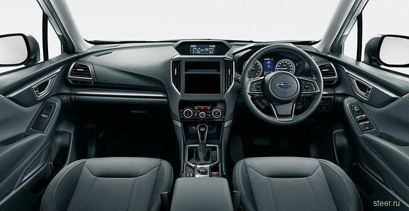 Какие версии нового Subaru Forester будут продавать в России