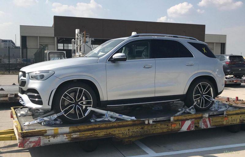 Новый Mercedes-Benz GLE: первые фото без камуфляжа